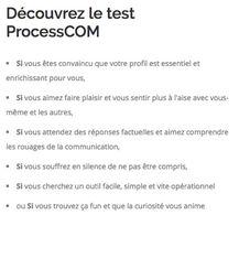 bilan processcom
